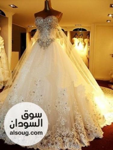 فستان زفاف و ارد سعوديه - صورة رقم