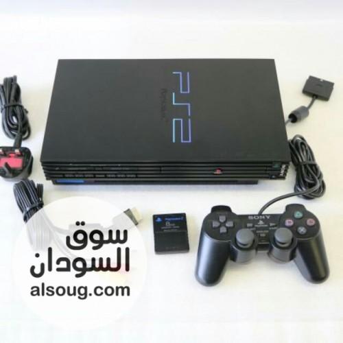 للبيع بلي استيشن 2 كرتووووونة ✔️-الجهاز المعروف من شركة Sony - صورة رقم