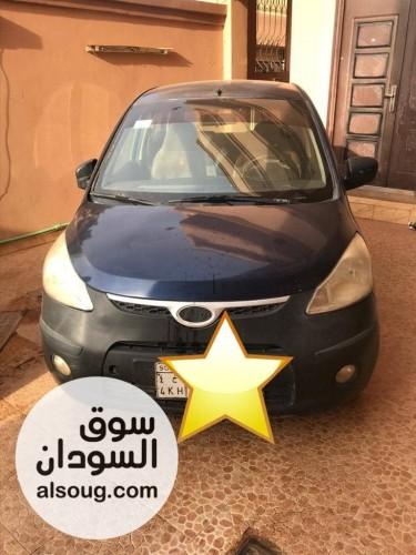 للبيع   سيارة i10 موديل قير اوتوماتيك ماشه - صورة رقم