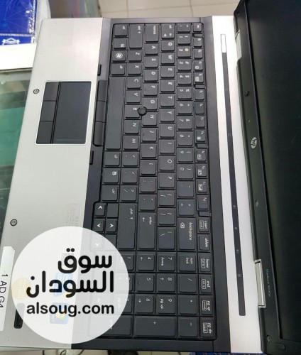 جهاز laptop hp litebook  Cori7 first gen Ram4 giga Hard giga - صورة رقم