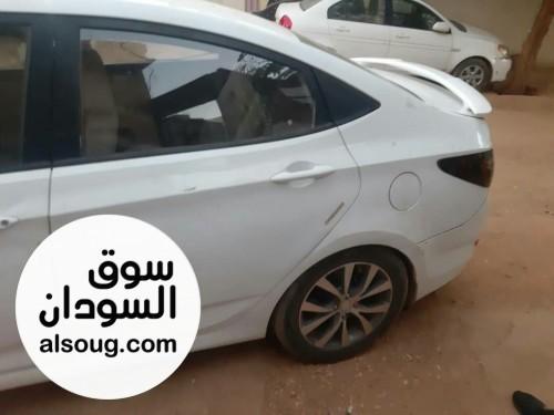 مقايضة سيارة اكسنت بارض زراعية او سكنية في الخرطوم مع دفع الفرق - Image #