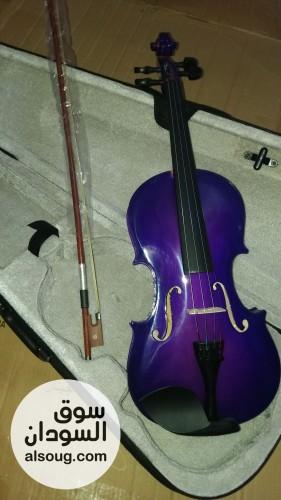 Violin ماركة shark الإيطالية اللون بنفسج السعر اهل - Image #