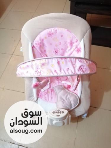 كرسي أطفال هزاز ما مرجيحة يعني الهز بحس بيهو البيبي و فيهو اغاني - صورة رقم