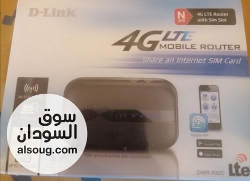واي فاي فورجي D.  يدعم كل الشبكات وارد الإمارات بسعر ١٣ شامل التوص - صورة رقم