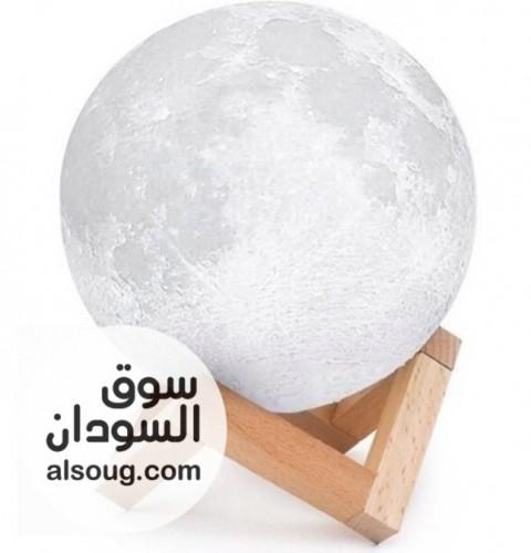 القمر المضيء سبعه الألوان مختلف يعمل عن طريق وصله usp - صورة رقم