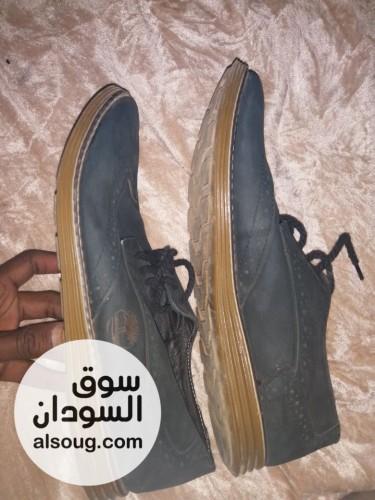 جزمة شموا جلد اصلي جااي من السعودية - صورة رقم
