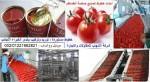 خطوط تصنيع معجون الطماطم..صلصة الطماطم
