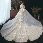 فستان زفاف رهيب
