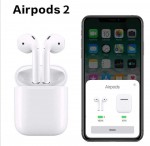 Air Pods 2 الاصدار الثاني مجددة
