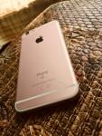 I phone 6 s roze gold