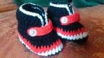 حذاء اطفال مواليد من  الكروشيه