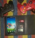 جهاز بلايستيشن 2 + تلفون سامسونغ s4