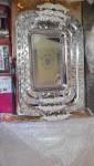 ✨ طقم صواني تقديم استيل تقييييييل ذهبي  مكون من صنتين