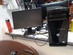 كمبيوتر مكتبي اصلي كامل  hp pro3500 core i5