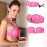 جهاز تكبير الثدى الوردي لتكبير الثدي