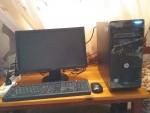 كمبيوتر مكتبي hp كامل الملحقات