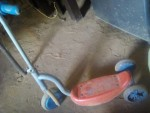 اسكوتر العاب اطفال مستعمل يحمل وزن ٣٠ك