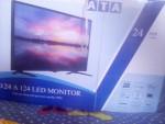 شاشة ATA 24 بوصة جديدة بالكرتونة