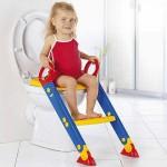 مقعد بسلم للطفال قابل للطى والتخزين