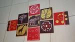 لوحات حائط للغرف والصالات والصالونات الطقم كامل ٩قطع