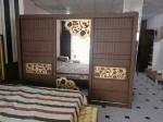 غرف نوم ماليزية مدعومة بالموسكو