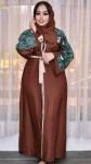 عبايات كريب سعودية تلبس وزن خمسين واكتر