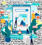 خدمات تطوير مواقع إلكترونيه ، تطبيقات أندرويد ، انظمه إداريه حسب الغرض