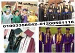 عبايات تخرج gown graduation كاب التخرج محلات
