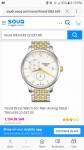 tissot very fancy but casual watch