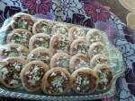 احلى انواع الفطائر والبيتزا وأنواع الحلويات