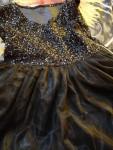 فستان اسود لعمر ١٠ سنوات للسهرات