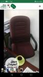 كرسي دوار مستورد جديد تصلح للمكاتب وجمع الاغراض