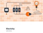 اعمال توصيلات الكهرباء و الاجهزة الكهربائية