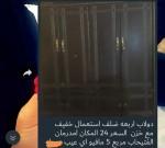 دولاب 4 ضلف استعمال خفيف مع خزائن