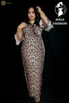 فستان تايقر  الخامه دبل كارينا  المقاسات M.   L.  XL فقط