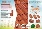 سقف اساسي مصنع من الفخار يمتاز ب خفه الوزن وجمال الشكل واللون يضيف قي