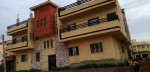 بيت جديد ناصيه بتكون من شقتين امدرمان حي البستان