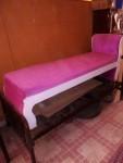 غرفه استقبال او ولاده بتتكون من سريرين عرض 120 نوع الملل خشب الارجل مو