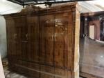 غرف نوم خشب موسكو اصلي درجه اولى الرفوف والضلف تايلندي تصميمات خرافيه