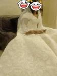 فستان زفاف ملكي للبيع فخم