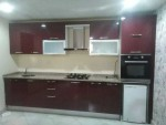 مطبخ تركي شبه جديد ، واااحد، طوله 3 متر