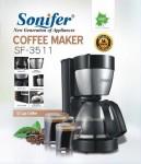 الة تحضير القهوة  ماركة سونفير الحجم موضح وصور بطبيعة