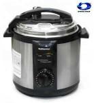 حلة Telionix الإماراتية   حلة ضغط كهربائية مقاس 6لتر  توفر وقت الطهي ب