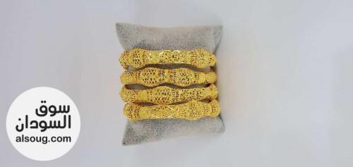 بألف فقط غوايش ذهبية جوز..٤ حبة ..او٦ حبة   - صورة رقم 1
