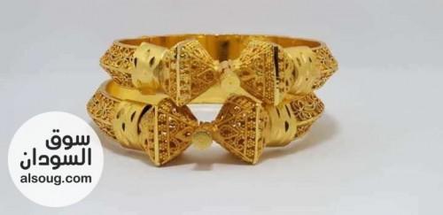 بألف فقط غوايش ذهبية جوز..٤ حبة ..او٦ حبة   - صورة رقم 9