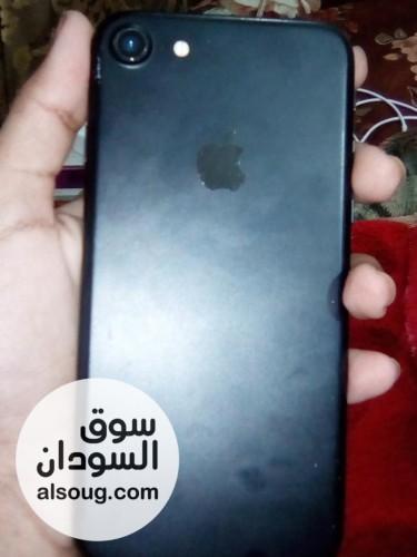 Apple i phone 7 b black ايفون سفن اسود - صورة رقم
