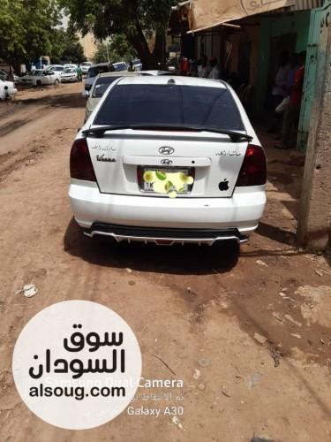 سيارة دبدوب خليجي ٢٠٠٦  هيونداي اكسنت  - صورة رقم