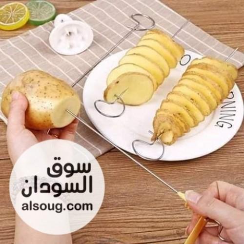 قطاعه بطاطس حلزونيه الرهييييبه - صورة رقم