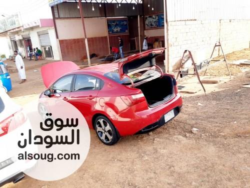 بسم الله الرحمن الرحيم -للبيع -السيارة: كيا ريو  فل ابشن - صورة رقم