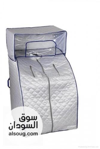 ساونا الجسم المنزلية الفضية   - صورة رقم